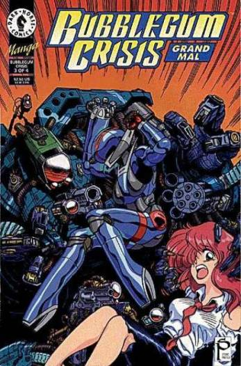 Torren Smith, Bubblegum Crisis: Grand Mal, 1995, Dark Horse Comics