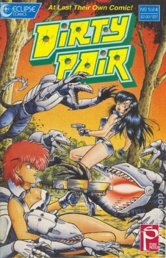 Adam Warren and Torren Smith, the Dirty Pair, 1988, Eclipse Comics