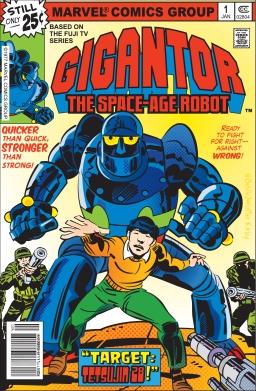 Jack Kirby, Gigantor, 1979?, Marvel Comics,